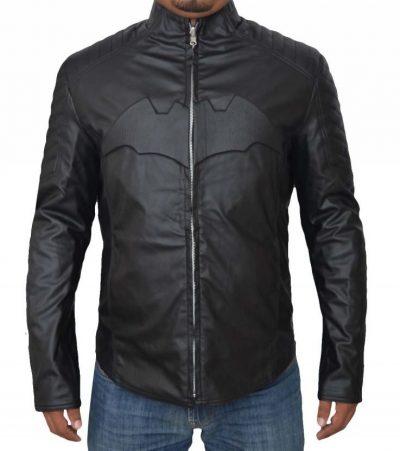 Superman v Batman Dawn of Justice Reversible Leather Jacket