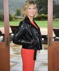 Olivia Newton John Grease Leather Jacket