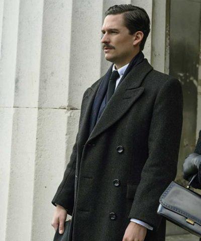 Ben Aldridge Pennyworth Black Coat