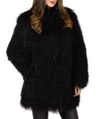 womens-winter-mongolian-black-fur-coat