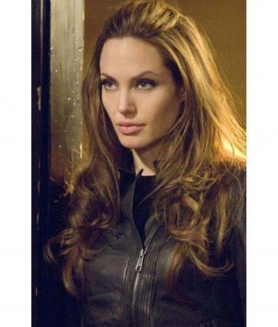 Angelina Jolie Eternals Thena Leather Jacket