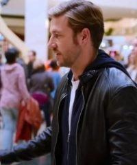 Holidate Luke Bracey Leather Jacket