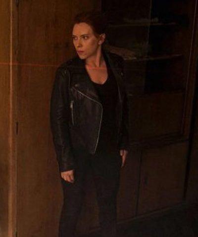 Black Widow 2021 Natasha Romanoff Motorcycle Jacket