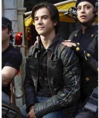 Alita Battle Angel Hugo Leather Jacket