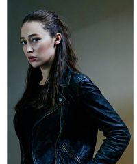 Fear The Walking Dead Alycia Debnam Carey Black Jacket