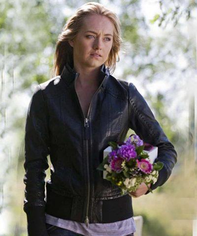 Amber Marshall Heartland Amy Fleming Leather Jacket