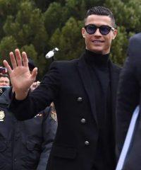 Cristiano Ronaldo Men Black Blazer