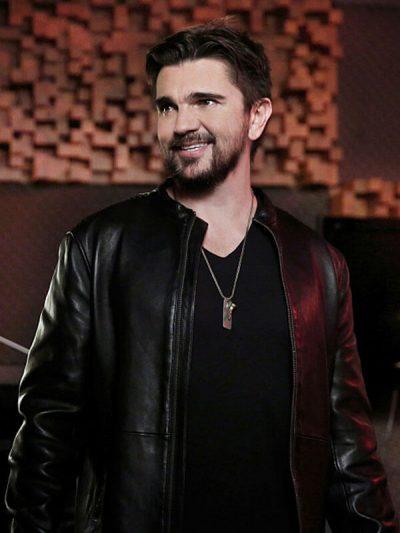 Juanes Jane the Virgin Black Leather Jacket