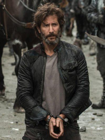 The 100 Season 3 Henry Ian Cusick Black Jacket