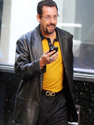 Adam Sandler Uncut Gems Black Blazer Jacket