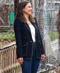 Ilana Glazer False Positive Black Blazer