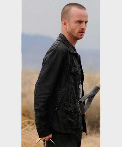 Breaking Bad TV Series Jesse Pinkman Leather Jacket
