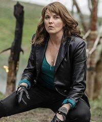 Ash Vs Evil Dead Lucy Lawless Black Blazer Jacket