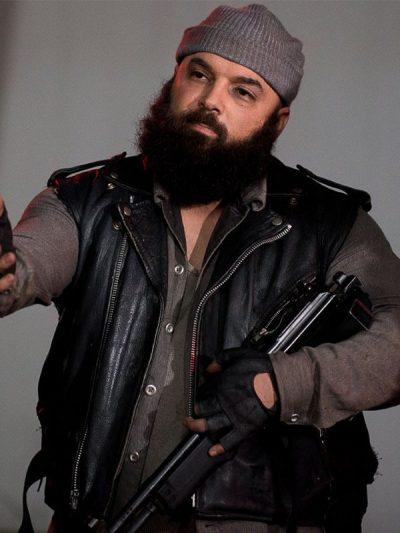 carlos-aviles-the-walking-dead-savior-guard-black-leather-vest