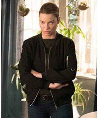 Lucifer Chloe Decker Black Bomber Jacket