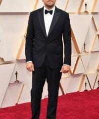 Leonardo Dicaprio Oscar Ceremony Tuxedo Black Suit