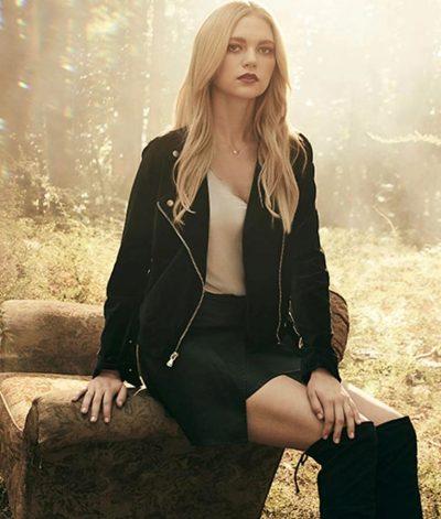 Legacies Lizzie Saltzman Black Leather Jacket