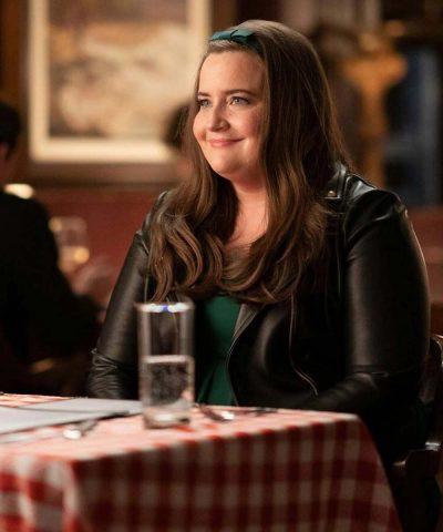 Shrill Season 03 Annie Easton Black Leather Jacket