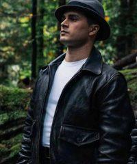 Project Blue Book S02 Michael Malarkey Leather Jacket