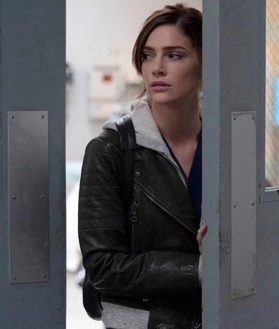 New Amsterdam Dr. Lauren Bloom Leather Jacket