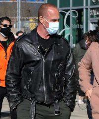 Law and Order Elliot Stabler Leather Jacket