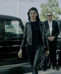 Follow Me Viktoria Black Leather Jacket