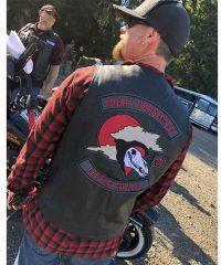 Lorelei Wayland Black Leather Vest