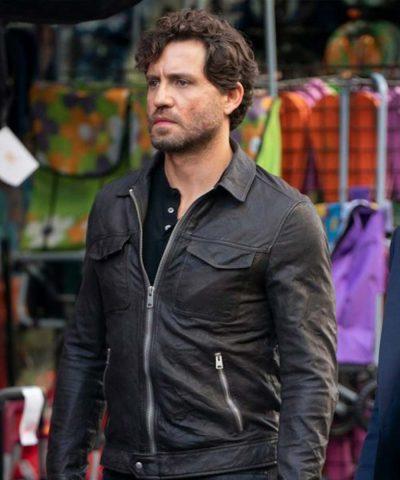 Luis The 355 Edgar Ramírez Leather Jacket