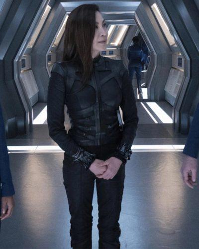 Michelle Yeoh Avatar 2 Black Leather Jacket