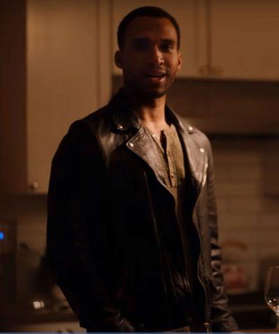 Ginny & Georgia Zion Black Leather Jacket