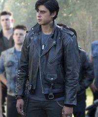 Riverdale Sweet Pea Black Leather Jacket
