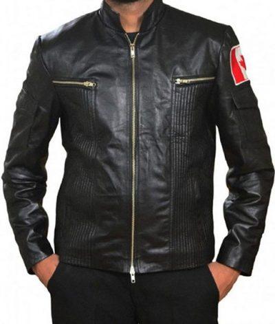 Stargate Atlantis Joe Flanigan Black Leather Jacket