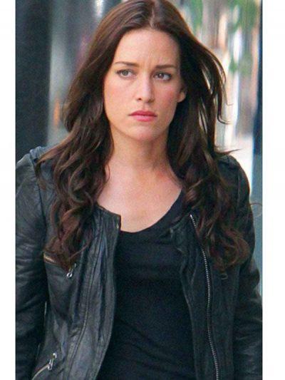 Covert Affairs Annie Walker Black Leather Jacket