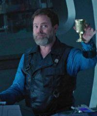 Star Trek Discovery Rainn Wilson Black Leather Vest