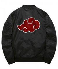Itachi Akatsuki Black Bomber Jacket