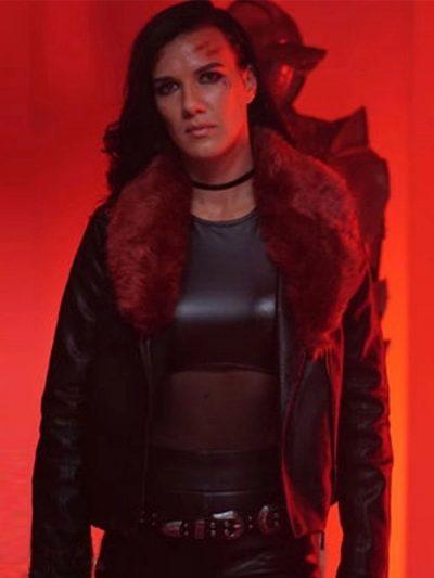 Acceleration Rhona Leather Jacket