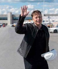 Tesla Model S Plaid Elon Musk Jacket
