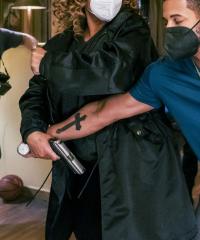 The Equalizer Queen Latifah Black Coat
