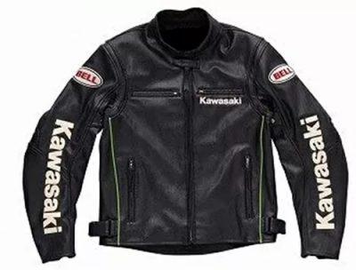 kawasaki-motorcycle-detachable-sleeves-black-leather-jacket