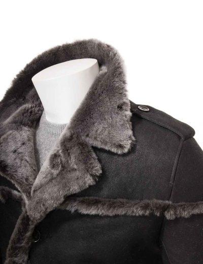 mens-black-leather-shearling-coat