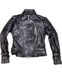 womens-buckle-straps-design-black-leather-jacket